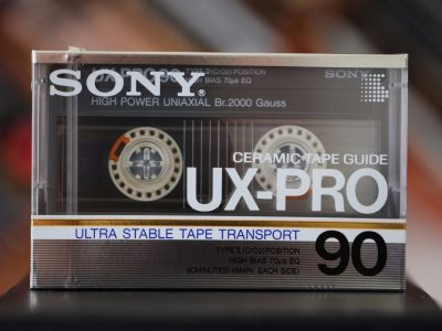 索尼 SONY UX-Pro 90 First Edition 盒式录音带