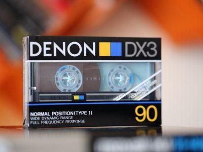 DENON DX3 盒式录音带