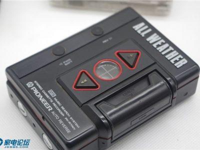 先锋 PIONEER PK-R7AW 磁带随身听