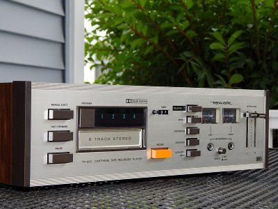 Realistic TR-802 8 Track Tape 8轨磁带卡座