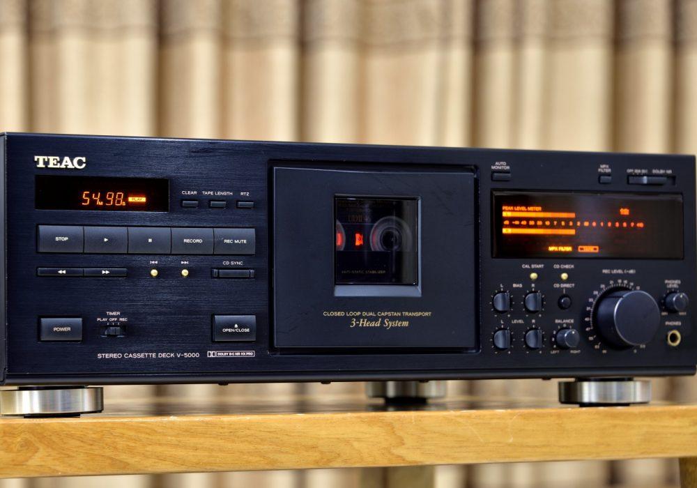 第一音响 TEAC V-5000 三磁头卡座