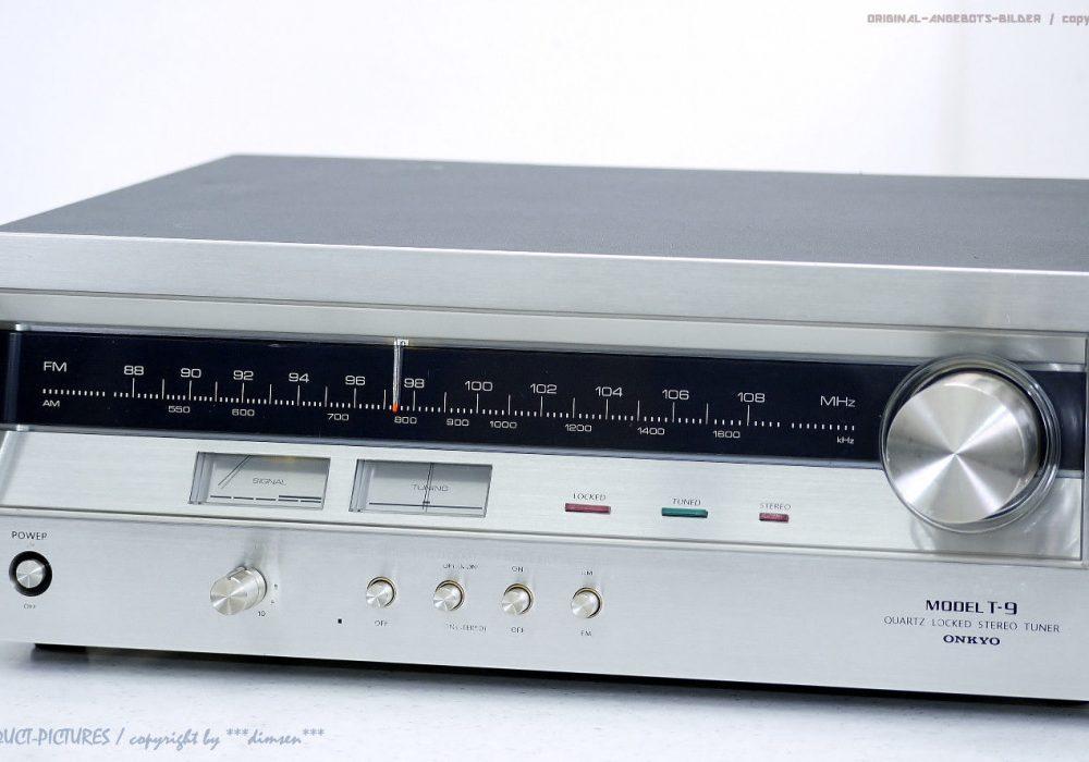 ONKYO Model T-9 FM/AM Quartz Locked Tuner 收音头