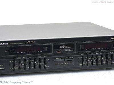 先锋 PIONEER GR-555 七段频谱 图示均衡器
