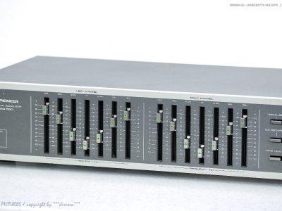 先锋 PIONEER SG-550 图示均衡器