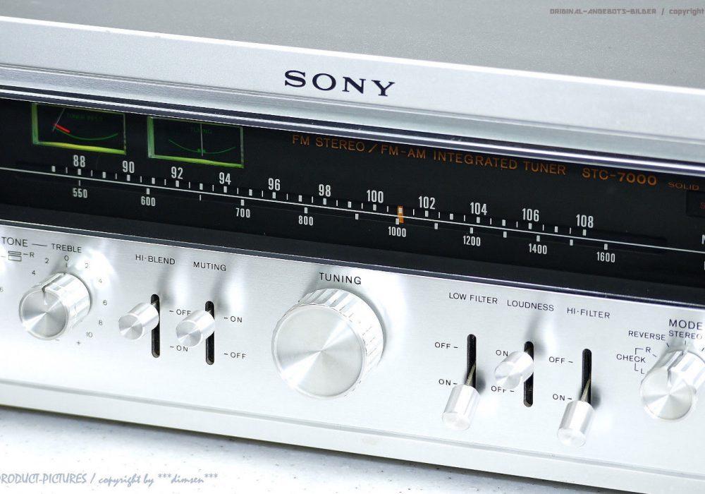 索尼 SONY STC-7000 FM Tuner 收音头
