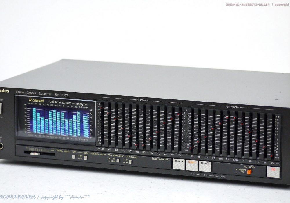 松下 Technics SH-8055 12-Band 图形均衡器