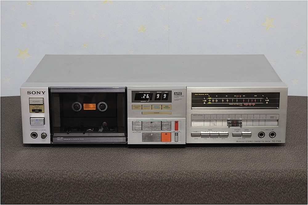 SONY TC-FX6 BSL 卡座