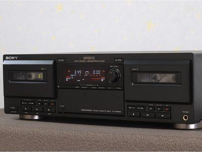 SONY TC-WR965S 双卡座