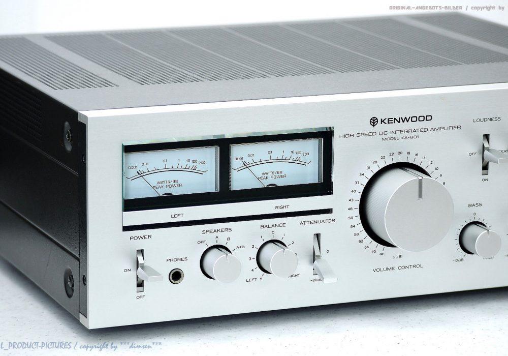 KENWOOD KA-801 High-End 功率放大器