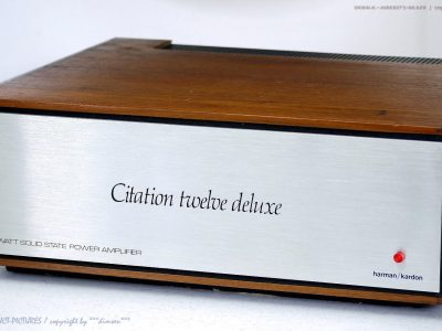 harman/kardon Citation 12 Twelve Deluxe 功率放大器