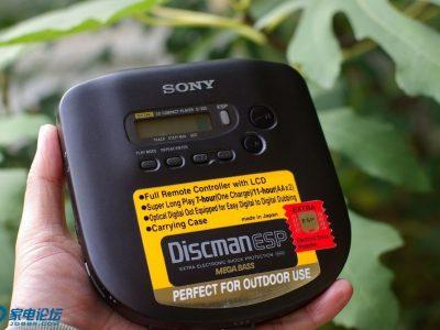 SONY D-335 CD随身听