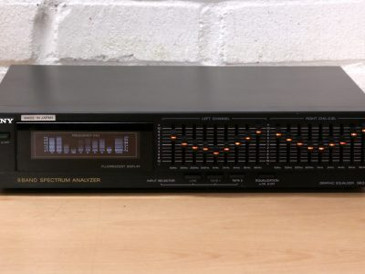 索尼 SONY SEQ-910 9段 图示均衡器