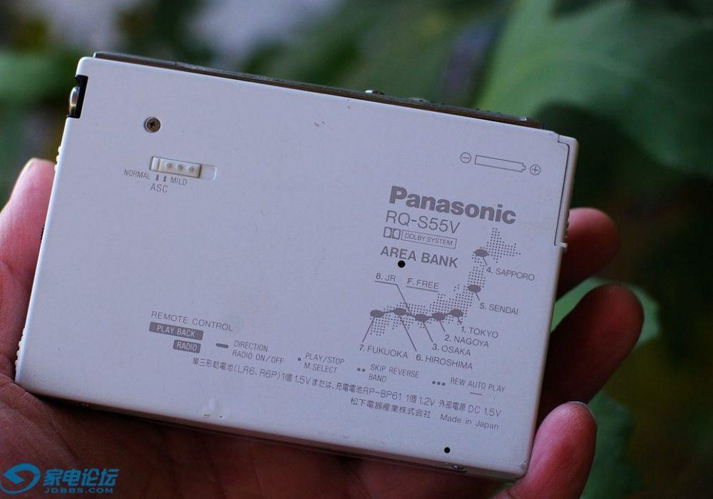 Panasonic RQ-S55V 磁带随身听