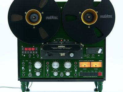 ReVox PR99 MKII 2-track 开盘机