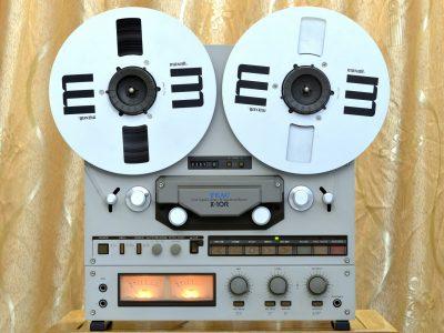 TEAC X-10R 四轨六磁头 开盘机