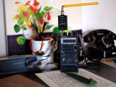 索尼 SONY ICF-PRO80 短波接收 便携收音机