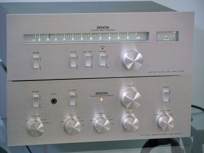 天龙 DENON PMA-232 前级放大 + DENON TU-332 后级功放