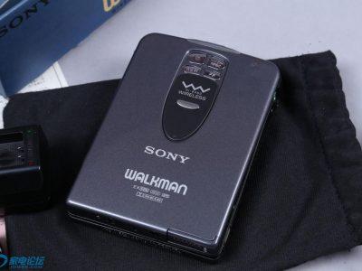 索尼 SONY WM-WX1 无线耳机 遥控 磁带随身听