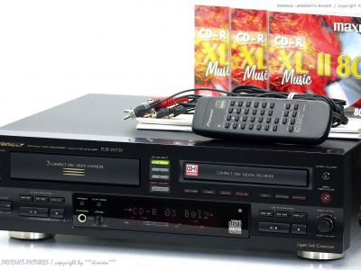 PIONEER PDR-W739 3碟连放 + CD刻录 / CD播放机