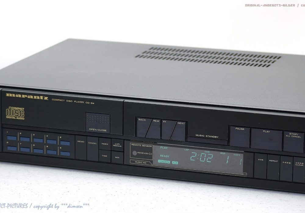 MARANTZ CD-84 High-End CD-Player CD播放机