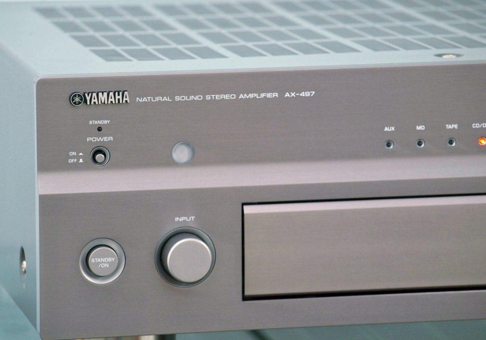 雅马哈 YAMAHA AX-497 功率放大器