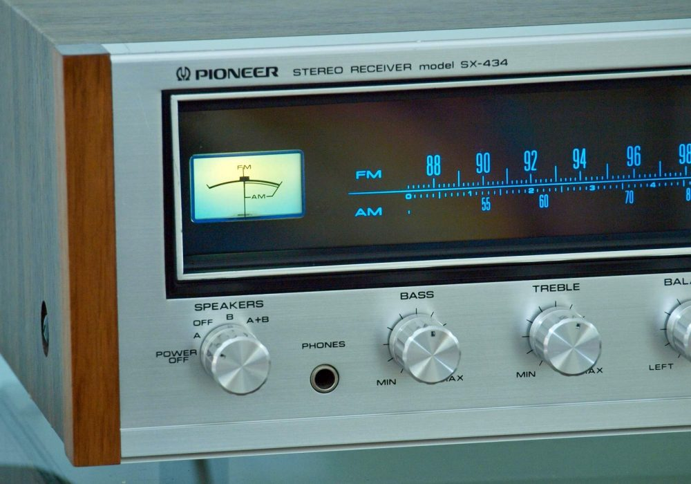 先锋 PIONEER SX-434 FM/AM 收音头