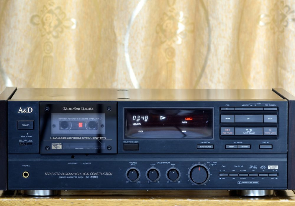 雅佳 AKAI GX-Z9100 三磁头卡座