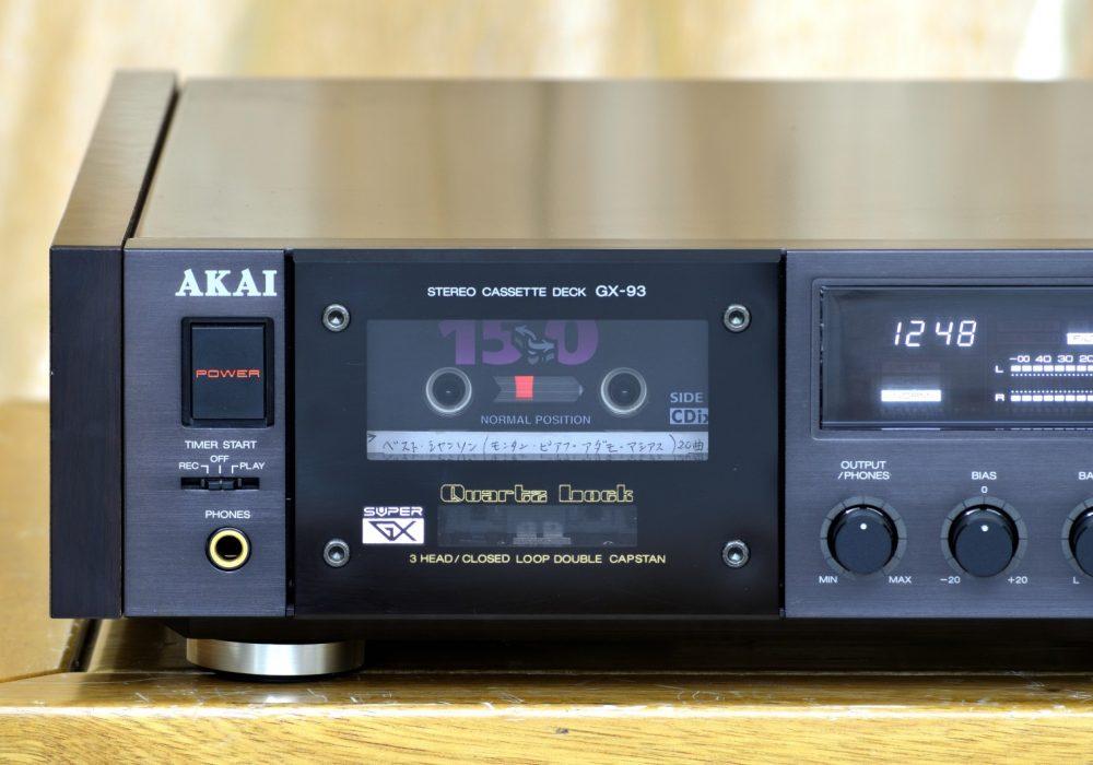雅佳 AKAI GX-93 卡座