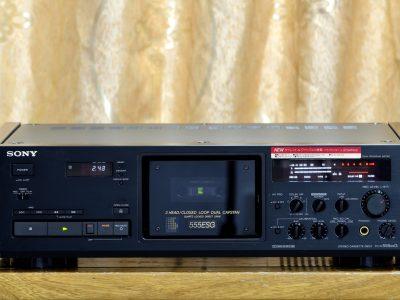索尼 SONY TC-K555ESG 三磁头卡座