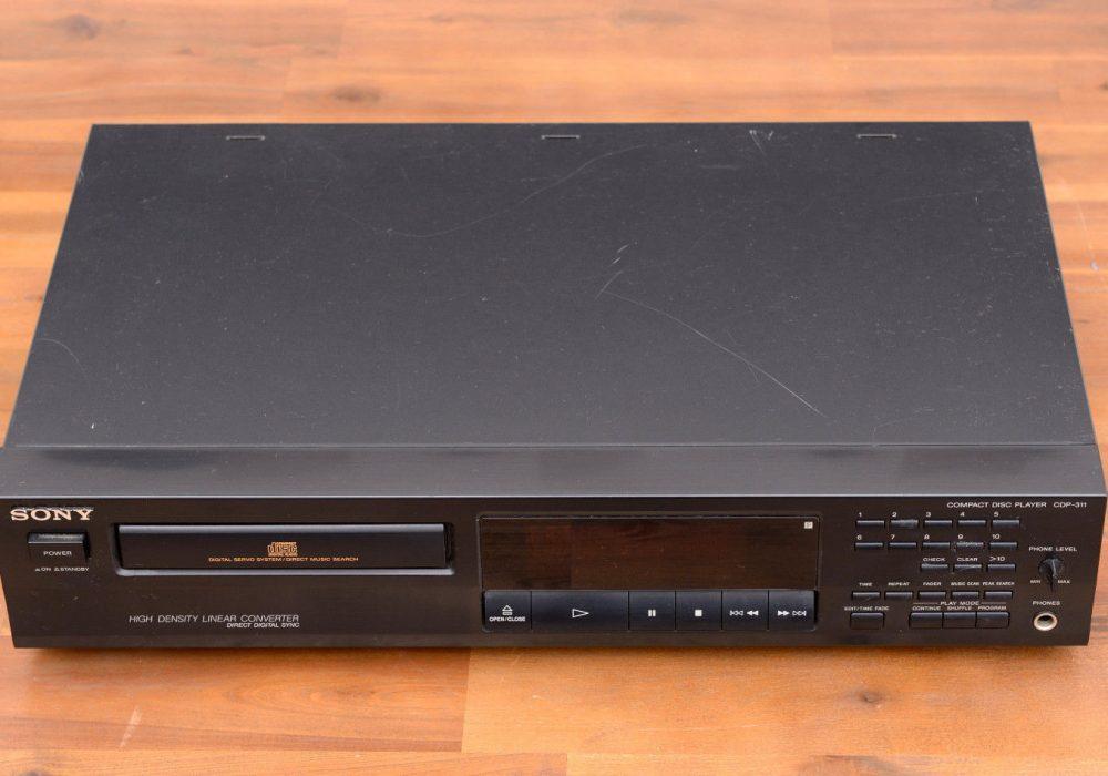 索尼 SONY CDP-311 CD-Player CD台机