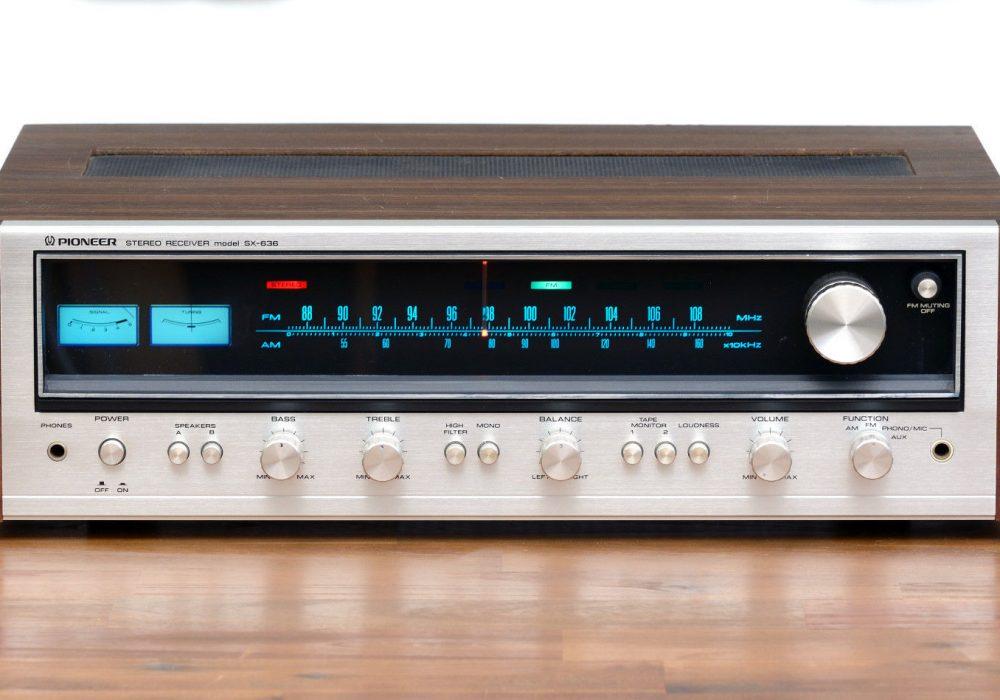 先锋 PIONEER SX-636 FM/AM 收扩机