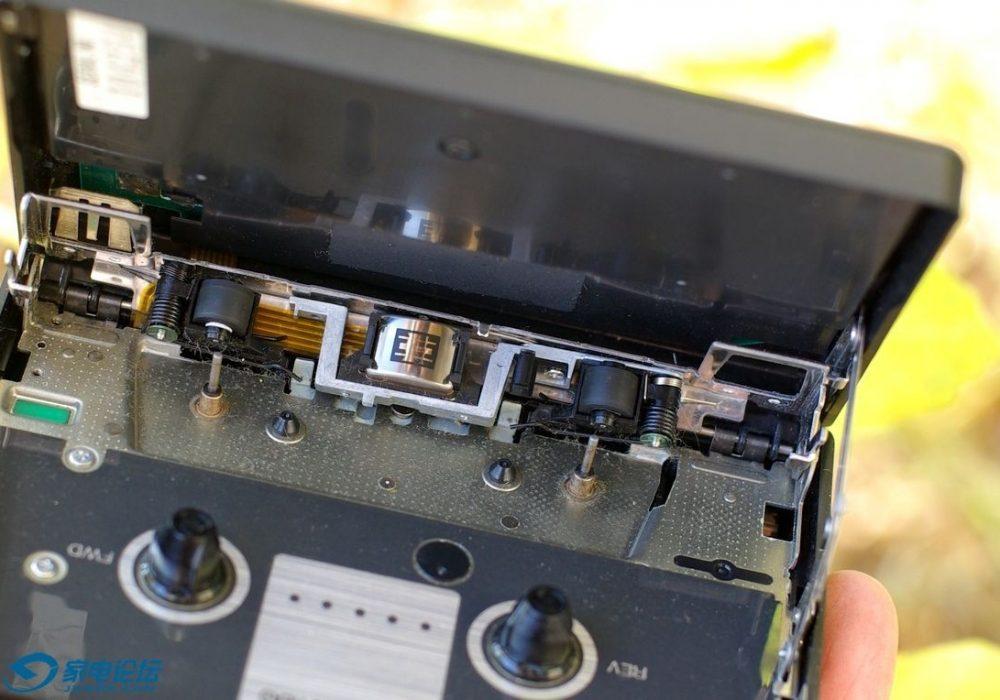 索尼 SONY WM-F606 无线耳机 磁带随身听