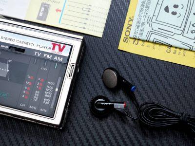 SONY WM-F30 WALKMAN 磁带随身听 + MDR-E242 耳塞