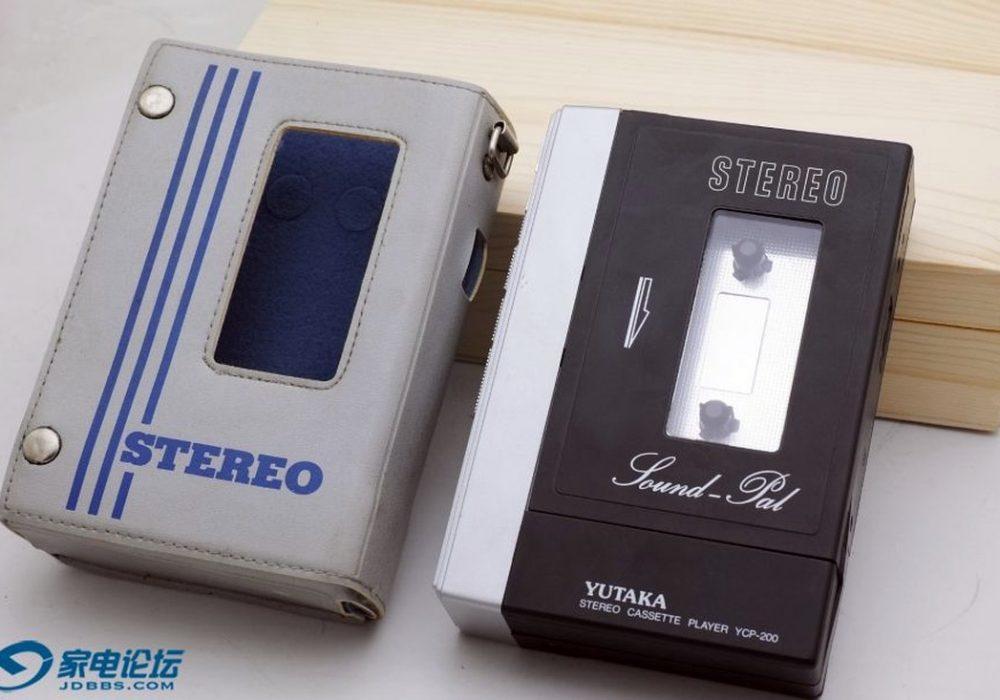日产 YUTAKA YCP-200 磁带随身听