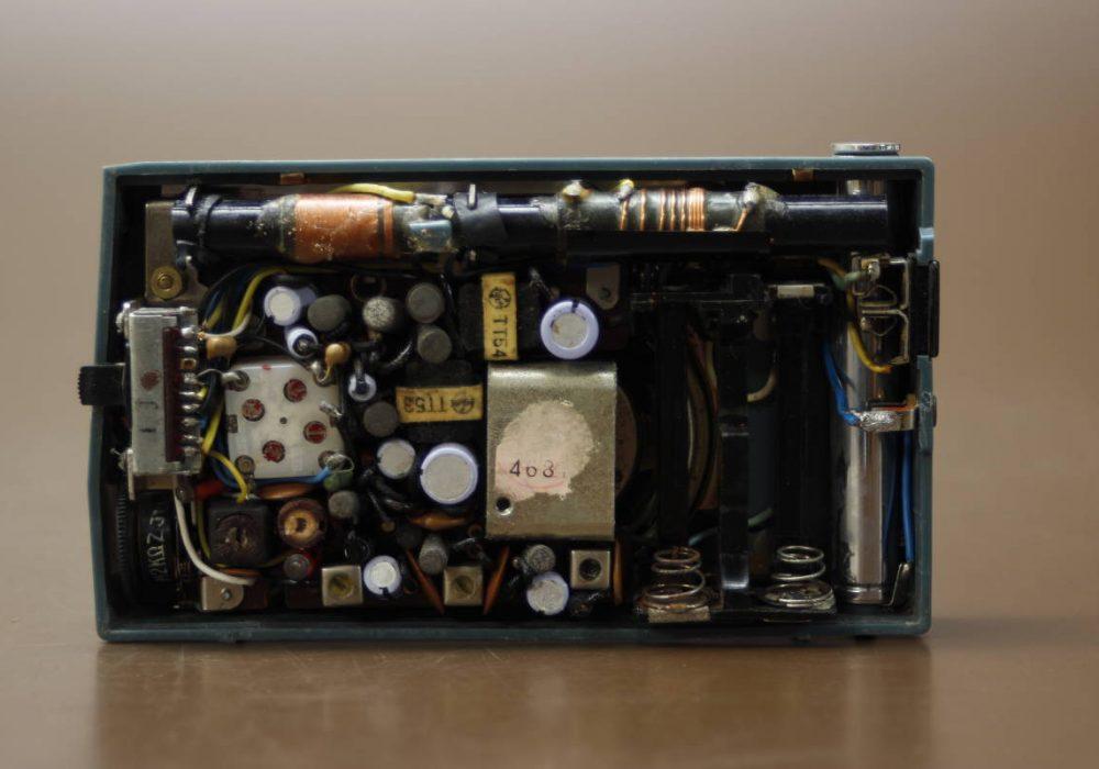 National T-44 2BAND 7-TRANSISTOR 便携式收音机