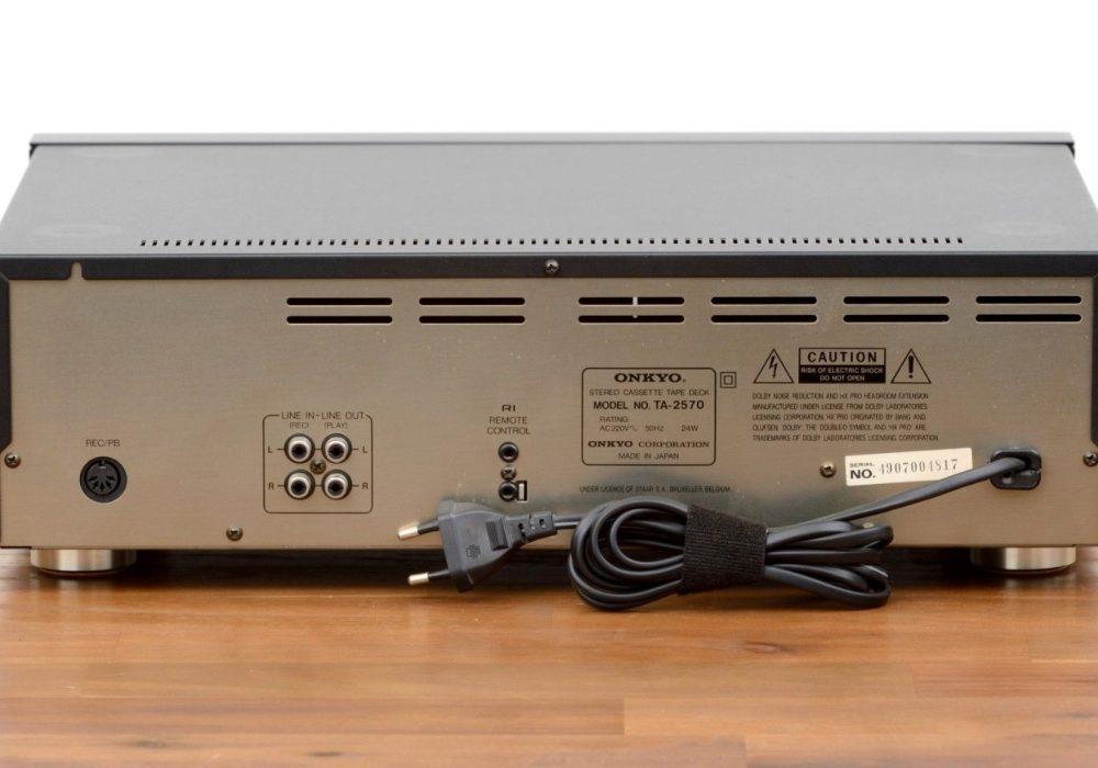 Onkyo Integra TA-2570 卡座