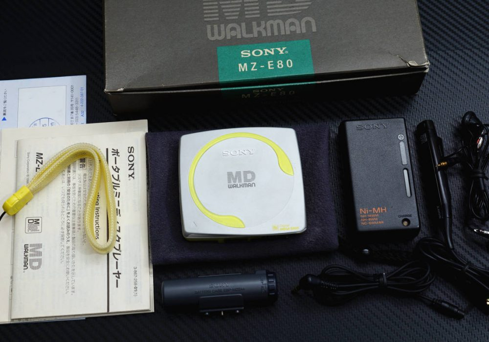 SONY MZ-E80 MD WALKMAN MD随身听