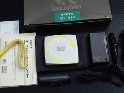 SONY MZ-E80 MD WALKMAN MD随身听