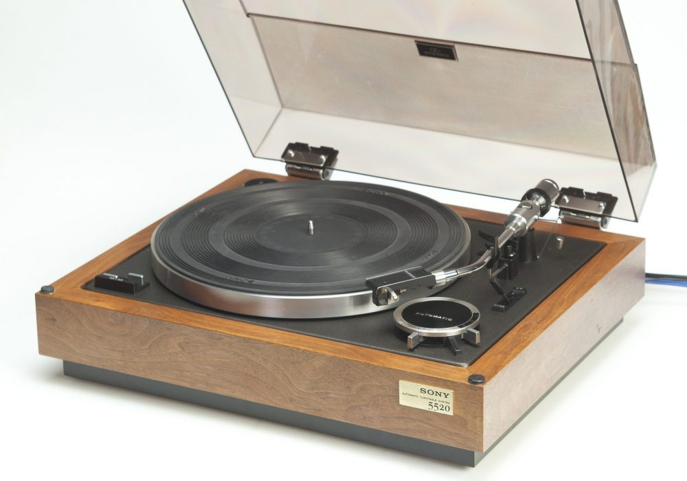SONY PS-5520 Turntable 黑胶唱机
