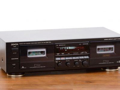 天龙 DENON DRW-750A 双卡座
