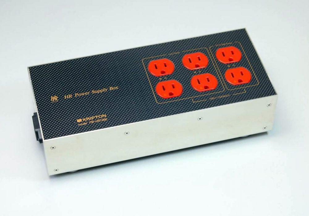 KRIPTON PB-HR1000 电源接线板