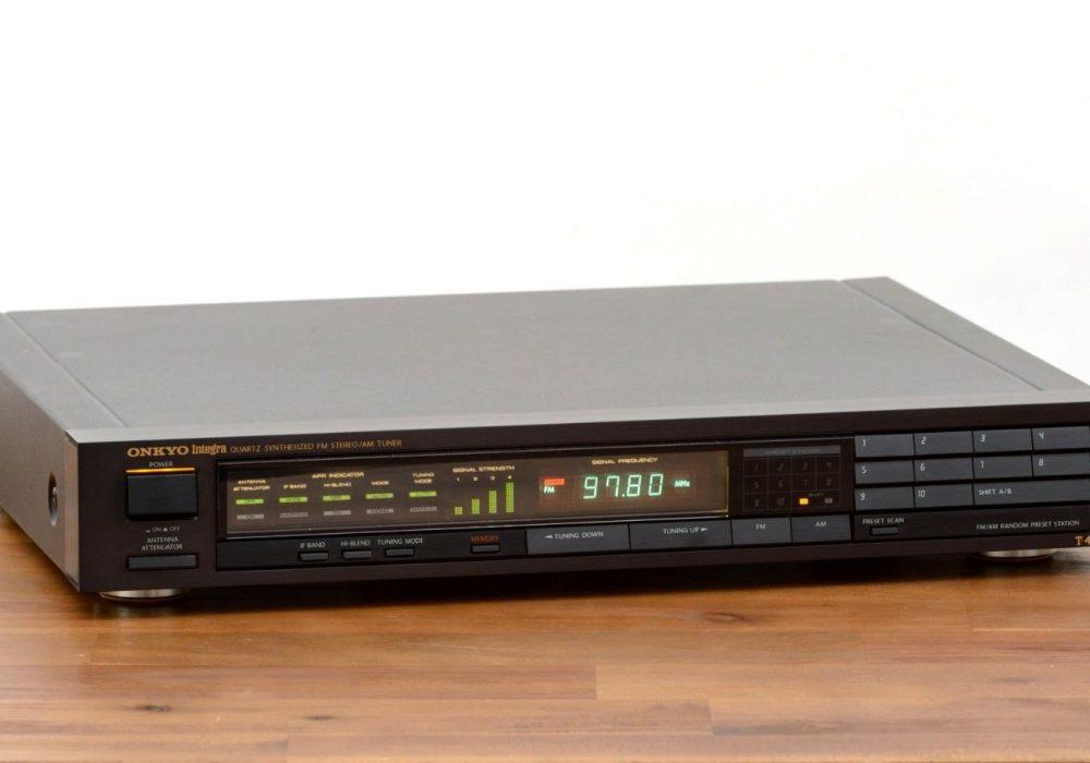 Onkyo T-4450 FM/AM Tuner 收音头