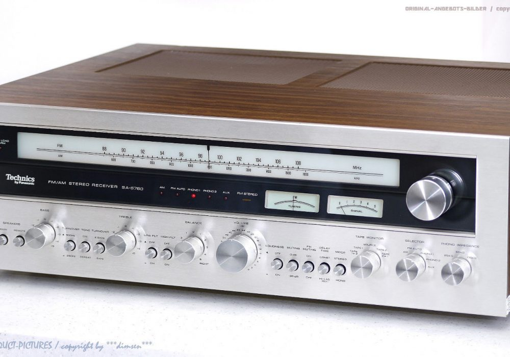 Technics SA-5760 FM/AM 收扩机