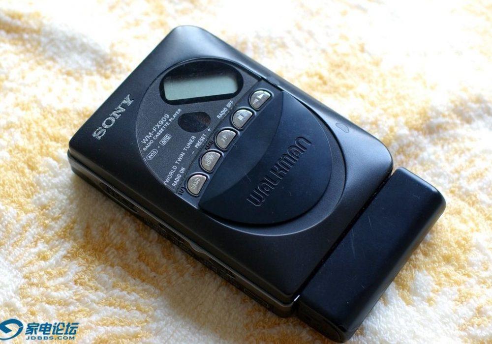 索尼 SONY WM-FX909 磁带随身听