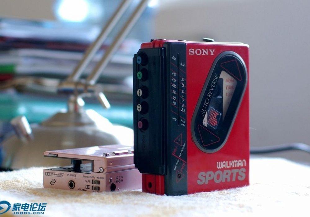 索尼 SONY WM-F75 磁带随身听