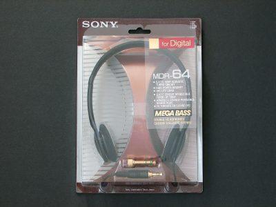 索尼 SONY MDR-64 小型头戴式耳机