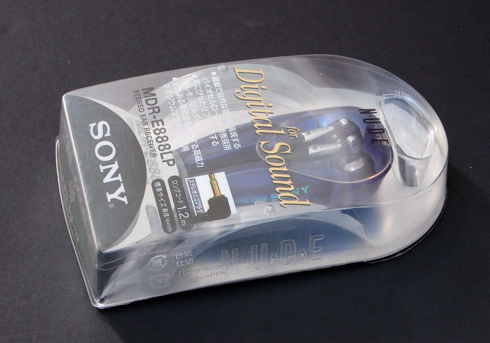 索尼 SONY MDR-E888LP 入耳式耳机