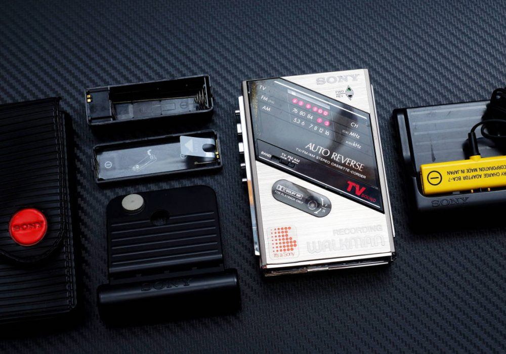 SONY WM-F202 WALKMAN 磁带随身听