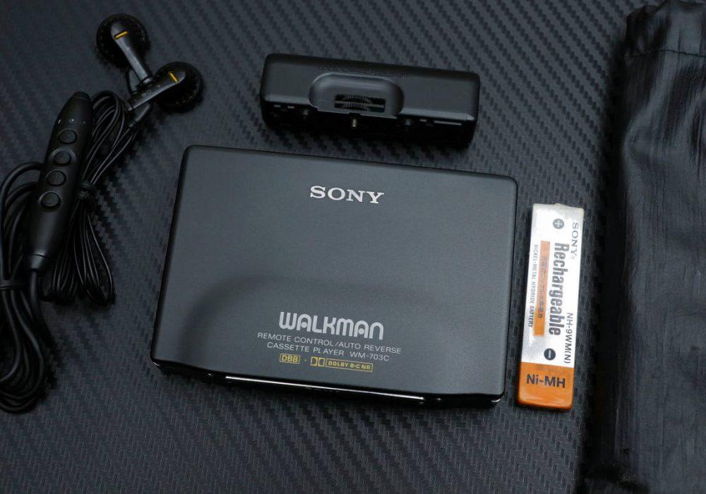 索尼 SONY WM-703C WALKMAN 磁带随身听