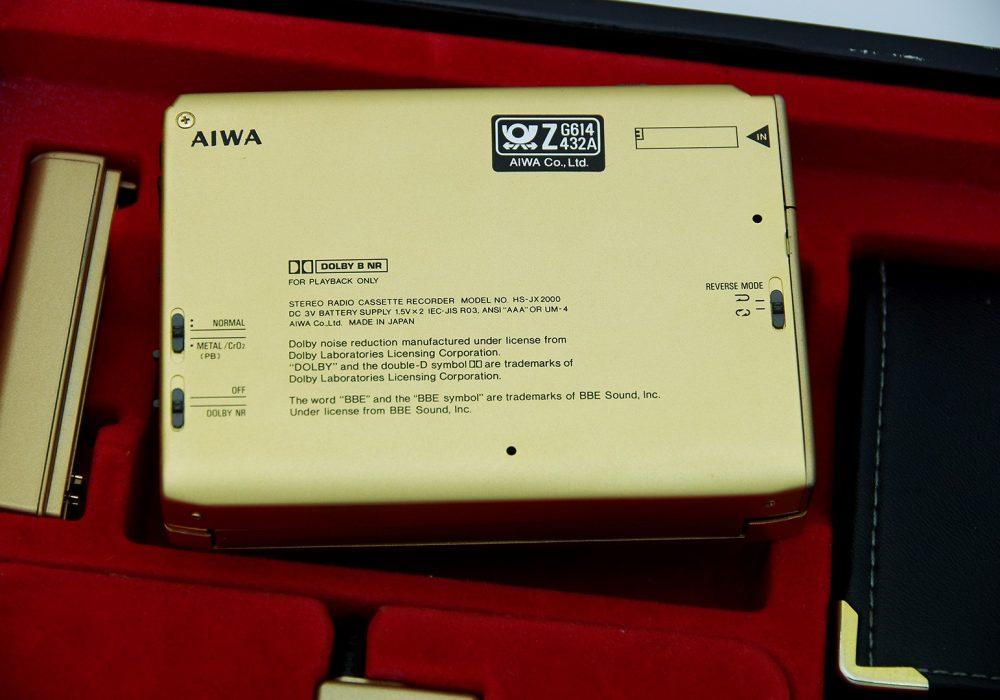 爱华 AIWA HS-JX2000 磁带随身听